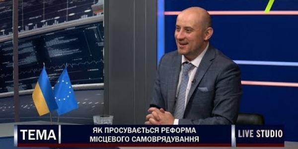 Вбудована мініатюра для Виконавчий директор АМУ О.Слобожан на телеканалі 7 (Одеса), 19 червня 2019 року