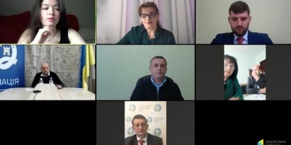 Вбудована мініатюра для Онлайн-брифінг «Медицина сьогодні: реформа, епідемія COVID-19, карантин» в Українському кризовому медіа-центрі, 7 травня 2020 року