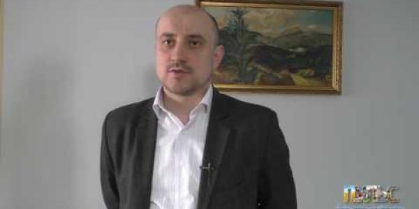 Вбудована мініатюра для Перший заступник виконавчого директора АМУ Олександр Слобожан про засідання фінансистів у м.Чернігові, 26 січня 2017 року